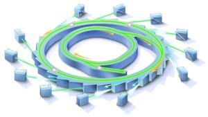 Synchrotron machine illustration
